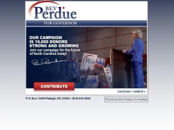 Official Campaign Web Site - Beverly Perdue