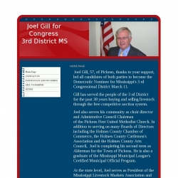Official Campaign Web Site - Joel L. Gill