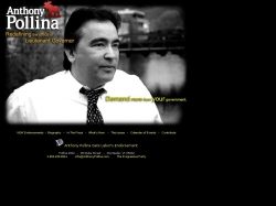 Official Campaign Web Site - Anthony Pollina