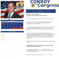 Official Campaign Web Site - Paul Conroy