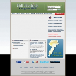 Official Campaign Web Site - William Eugene Hedrick