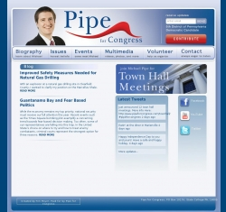 Official Campaign Web Site - Michael Pipe