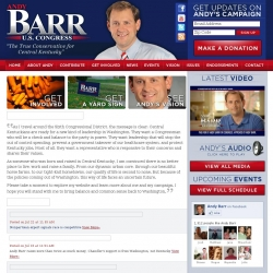 Official Campaign Web Site - Garland Andy Barr