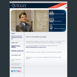 Official Campaign Web Site - Mike Quigley