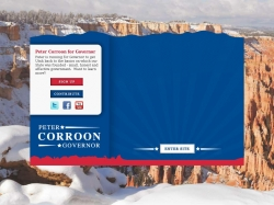 Official Campaign Web Site - Peter Corroon