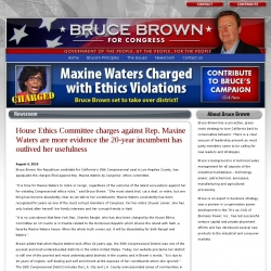 Official Campaign Web Site - K. Bruce Brown
