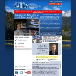 Official Campaign Web Site - Stephen Bailey
