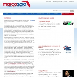 Official Campaign Web Site - Marco Rubio