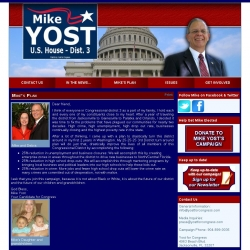 Official Campaign Web Site - Michael F. 'Mike' Yost