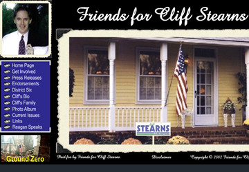 Official Campaign Web Site - Cliff Stearns