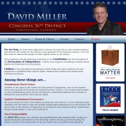 Official Campaign Web Site - David Lawrence Miller