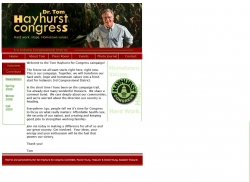 Official Campaign Web Site - Thomas Eldon Hayhurst