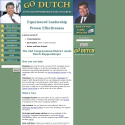 Official Campaign Web Site - C.A. Dutch Ruppersberger
