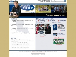 Official Campaign Web Site - David Vitter