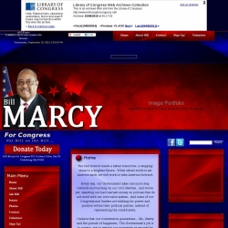 Official Campaign Web Site - William Louis 'Bill' Marcy