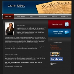 Official Campaign Web Site - Jasmin Talbert