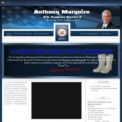Official Campaign Web Site - Anthony Marquize