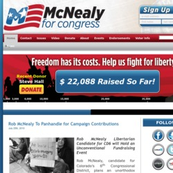 Official Campaign Web Site - Robert Lee McNealy