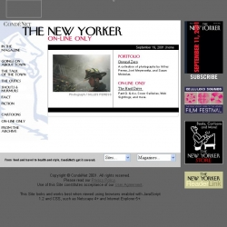 The  New Yorker: On-line Only