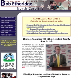 Member of Congress Official Web Site - Bob Etheridge