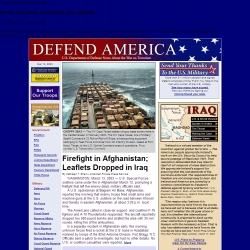 Home Page of defendamerica.mil