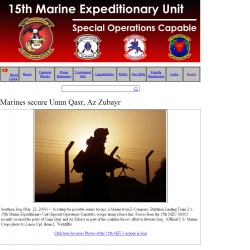 Welcome to the 15th MEU