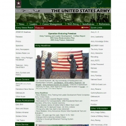 The  United States Army Homepage