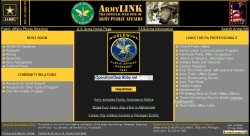 Armylink, Official web site, Office U.S. Army Chief of Public Affairs (OCPA)