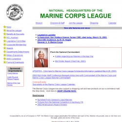 Welcome to the Marine Corps League