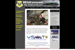 Welcome to the Whiteman Air Force Base Public Site