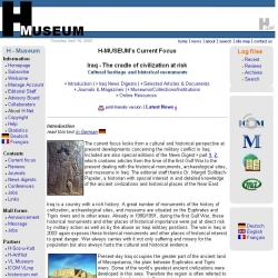Iraq -- The cradle of civilization at risk: H-Museum Current Focus