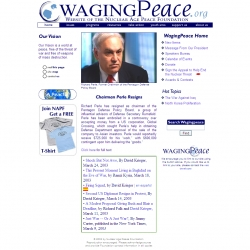 Nuclear Age Peace Foundation, peace, nuclear weapons, disarmament, international   law