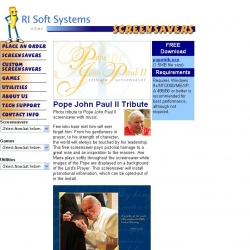 Pope John Paul II Tribute Screensaver