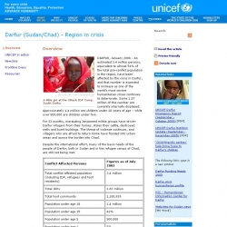 UNICEF - Darfur (Sudan/Chad) - Region in crisis - Overview