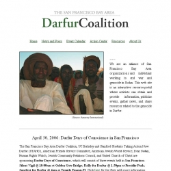 The  Bay Area Darfur Coalition