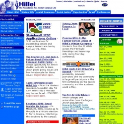 Hillel : The Foundation for Jewish Campus Life