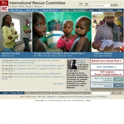 IRC : International Rescue Committee