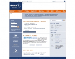Official web site of the American Institute of Aeronautics and Astronautics