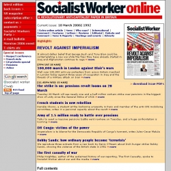 Socialist Worker Online : an anticapitalist, revolutionary weekly