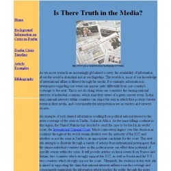 Is there Truth in the Media?