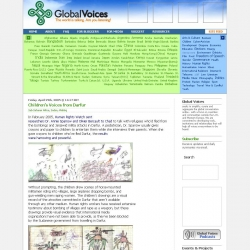Global Voices Online : Children's Voices from Darfur