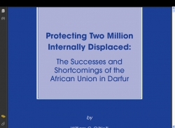 Protecting Two Million Internally Displaced : the Success and Shortcomings of the African Union in Darfur