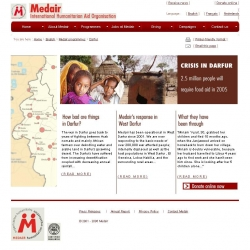 Medair, Crisis in Darfur - 2.5 million people will require food aid in 2005