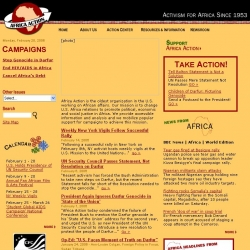Africa Action : Activism for Africa Since 1953