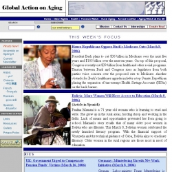 Global Action on Aging