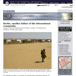 Electronic Intifada : Darfur, another failure of the international community