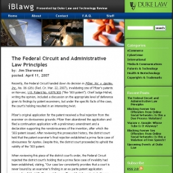 Duke Law and Technology Review - iBlawg