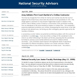 National Security Advisors