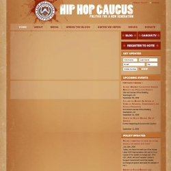 Hip Hop Caucus : Politics for a New Generation