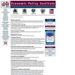 Economic Policy Institute : Research and Shared Ideas for Prosperity